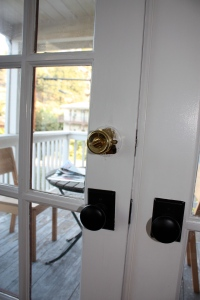 Sad foreclosure deadbolt