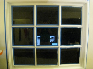 Living Room Window Before